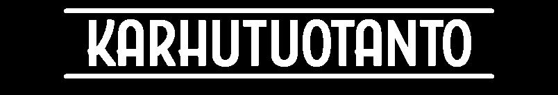Karhutuotanto_logo_valkoinen
